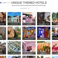 Unique Themed Hotels [Interactive Gallery] | Visual.ly