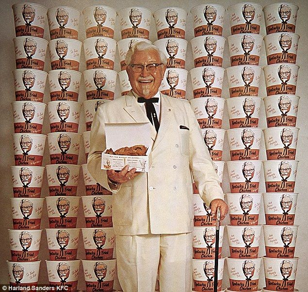 Colonel Sanders died in 1980, aged 90, but had only fame and wealth with his recipe in his...