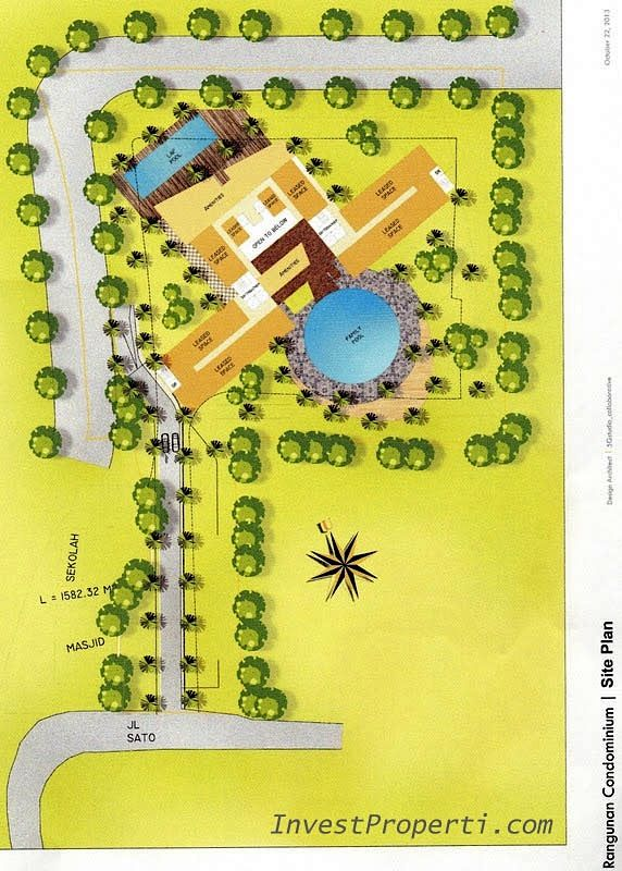 Site Plan Apartemen The ForesQue @ TB Simatupang.