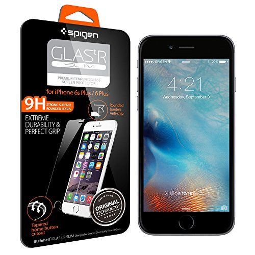 iPhone 6s Plus Screen Protector, Spigen® [3D Touch Compatible- Tempered Glass] Most Durable [Easy-Install Wings] iPhone 6 Plus / 6s Plus Rounded Edge Glass Screen Protector [Life Warranty] - SGP11634 - http://darrenblogs.com/2015/09/iphone-6s-plus-screen-protector-spigen-3d-touch-compatible-tempered-glass-most-durable-easy-install-wings-iphone-6-plus-6s-plus-rounded-edge-glass-screen-protector-life-warranty-sgp1/
