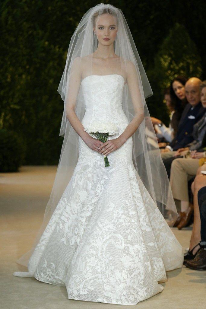 Carolina Herrera Bridal Spring 2014 - Slideshow - Runway, Fashion Week, Reviews and Slideshows - WWD.com