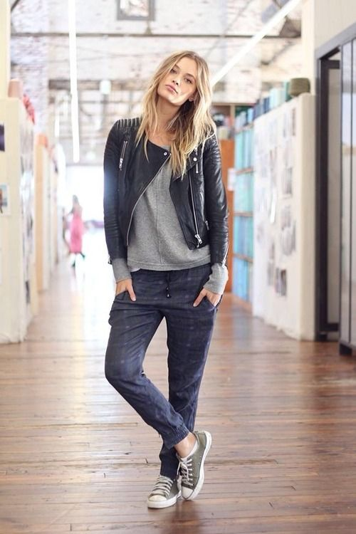 How to Wear Jogger Pants | Active | Pinterest