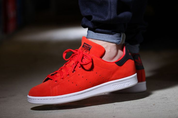 """adidas Stan Smith """"Red & Core Black"""""""