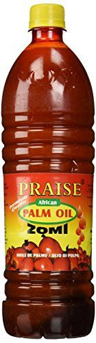 Praise Red Palm Oil, 1-Litre - Zomi