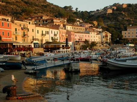 Giglio, Tuscany: Make me an island in the Italian sun | Harbour delights: Porto is one of three villages on the island, and also the busy harbour where tourists get their first close-up views of Giglio's captivating scenery.