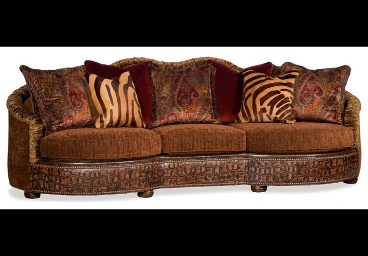 SOFA, COUCH & LOVESEAT Wild side large sofa with designer fabrics and leathers