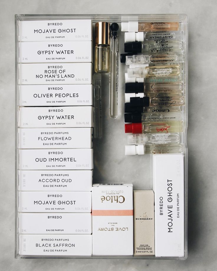 Perfume Samples: Where to Get & How to Store Them