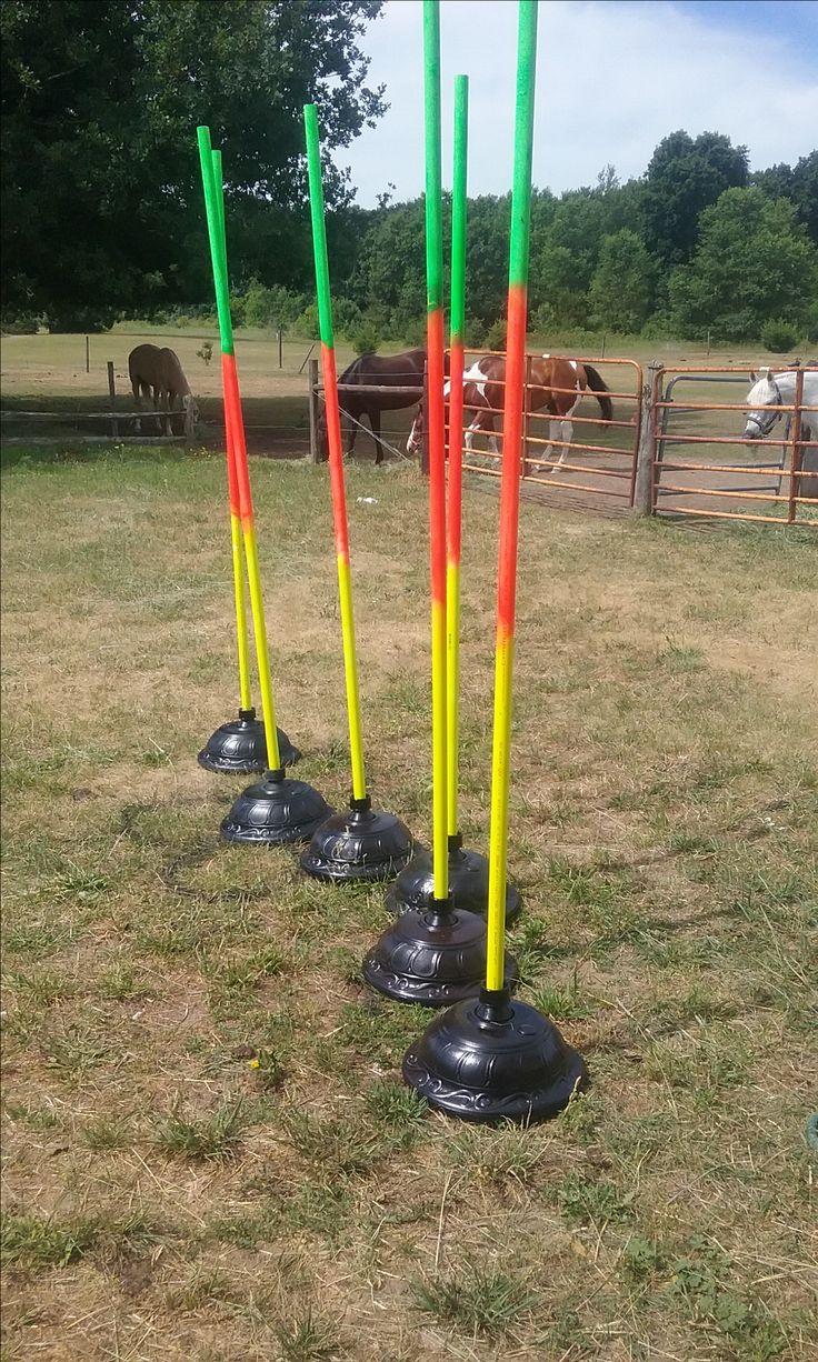DIY pole bending poles