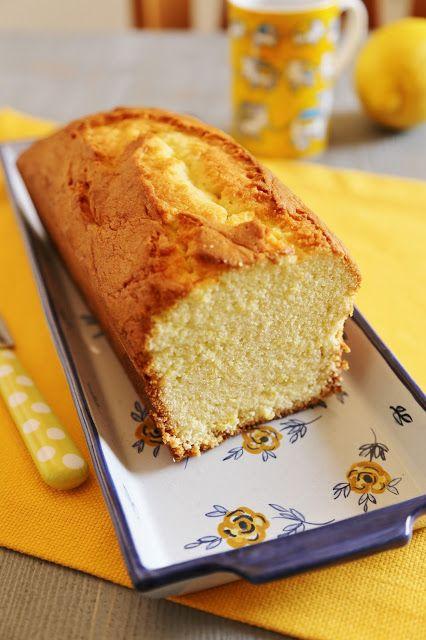 Coccole di dolcezza: Plumcake al limone