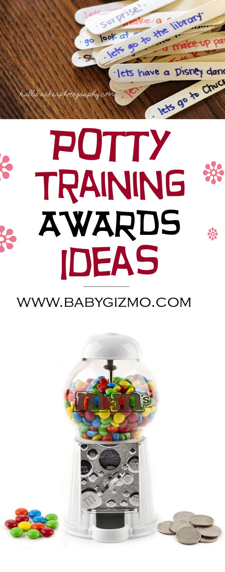 Potty training awards for toddlers! These ideas a brilliant for getting a child motivated! #babygizmo #toddler #potty #pottytraining