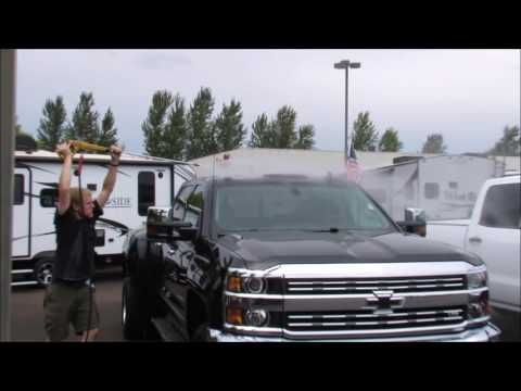 Awesome Power Washing Trucks At Lassen Chevrolet/Toyota Albany, OR