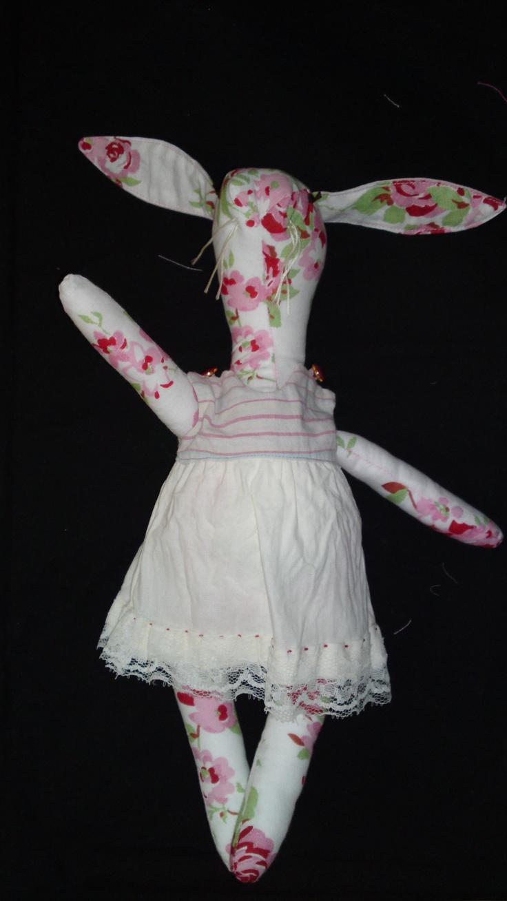 Dancing rabbit, self designed and made.