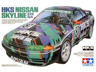 Boxart Nissan Skyline GT-R Gr. A 24135 Tamiya