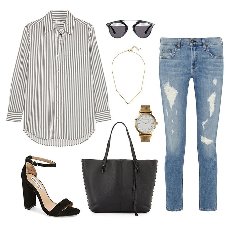 #OOTD | Casual Office Outfit Inspiration from ShopStyle