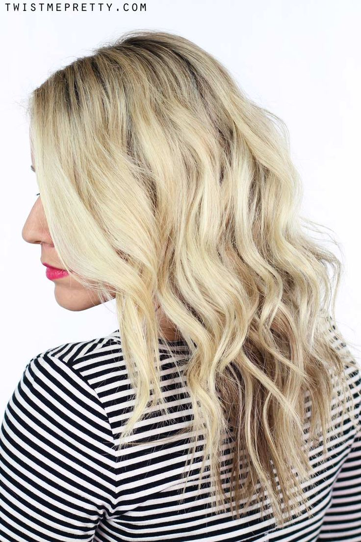 How to create soft waves with a curling rod