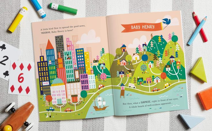 All The Things I Wish For You personalised children's book. Papier UK