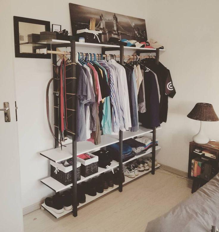 8 best organized interiors images on pinterest custom for Garderobe wasserrohr