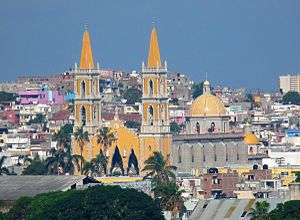Mazatlan Mexico went in chruch that is downtown,