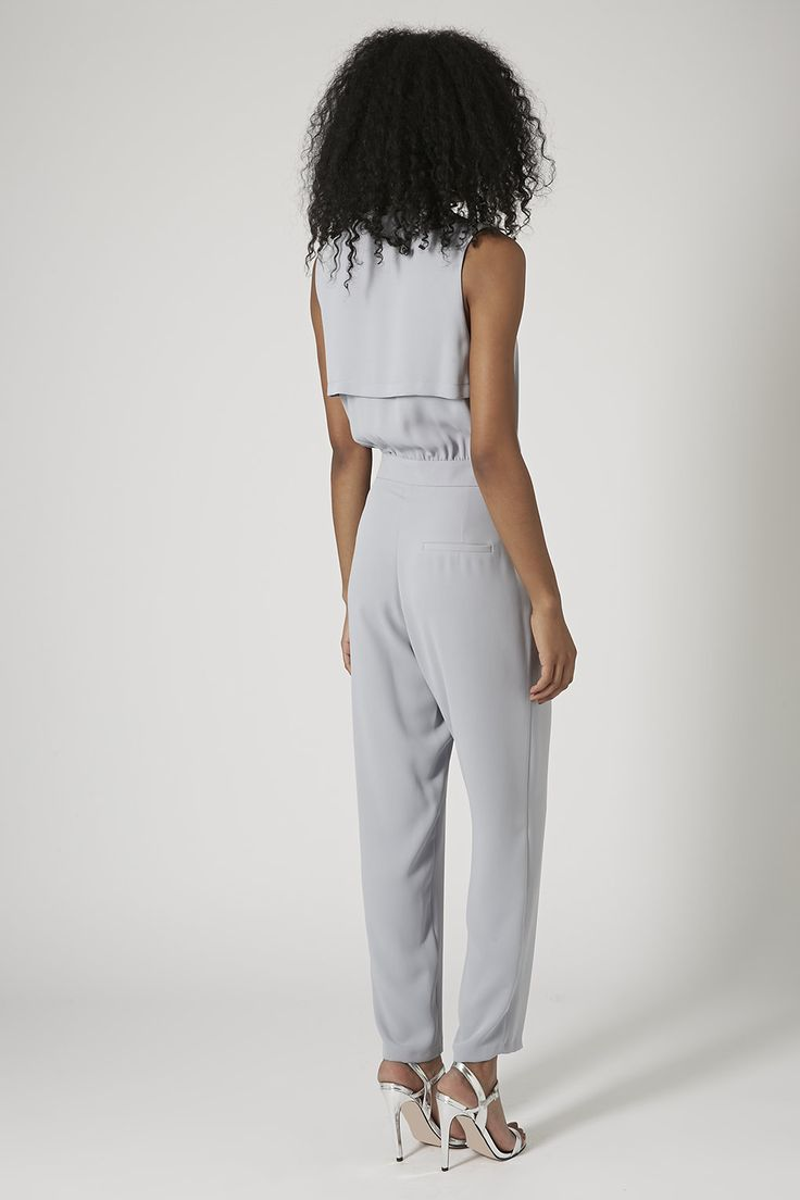 Photo 3 of Sleeveless Crepe D-Ring Jumpsuit