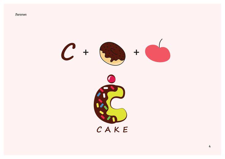 """Cake-shop branding by Alina Grushina, """"Garphic design"""" course student in European Design School, Kiev, Ukraine. Разработка фирменного стиля для кондитерской, автор - выпускница курса """"Графический дизайн"""" в Европейской Школе Дизайна Алина Грушина. #graphicdesign #branding #cakeshop #yumm"""