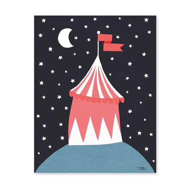 Michelle Carlslund Poster Circus Tent 30 X 40 Cm