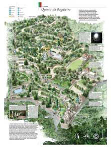 Mapa - Quinta da Regaleira