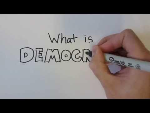 "WhatisDemocracy?Affirmation:Democracyisb asedontheprincipleofgovernment""bythepeopl e…forthepeople""Beingacitizencarrieswithitres ponsibility,toexhibitcitizenshipIwillfindwaystopartnerwithmyfellowcitizenstotakestepstoimprovethequalityinwhichweliveDailyAction:YouhavetherighttovoiceyourconcernswhenyouaredissatisfiedwiththeactionsofyourgovernmentIfyouarefeelingtaketimetocallorwriteyourrepresentativetomakethemawareofyourconcernsEffectivedemocracyreliesonallcitizensvoicingtheiropinionsandvote"