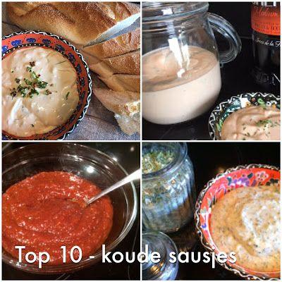 Lekker eten met Marlon: De top 10 - Koude sausjes voor bij de gourmet, fondue, steengrill