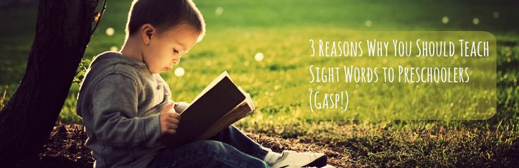 Should students be taught sight words in beginning reading