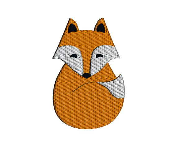 Filled Fox by Katie Lyons    **This is a Machine Embroidery pattern. You must…