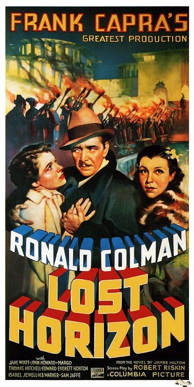 Love Ronald Coleman & Frank Capra but not a huge fan of this film. Still, good poster.