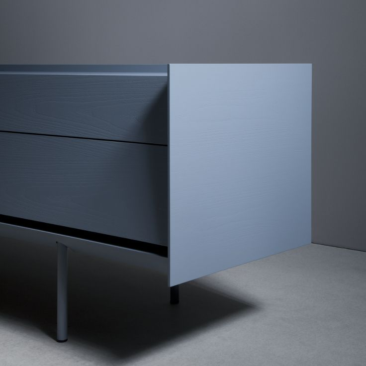 Sideboard 240 with drawers - telegrey