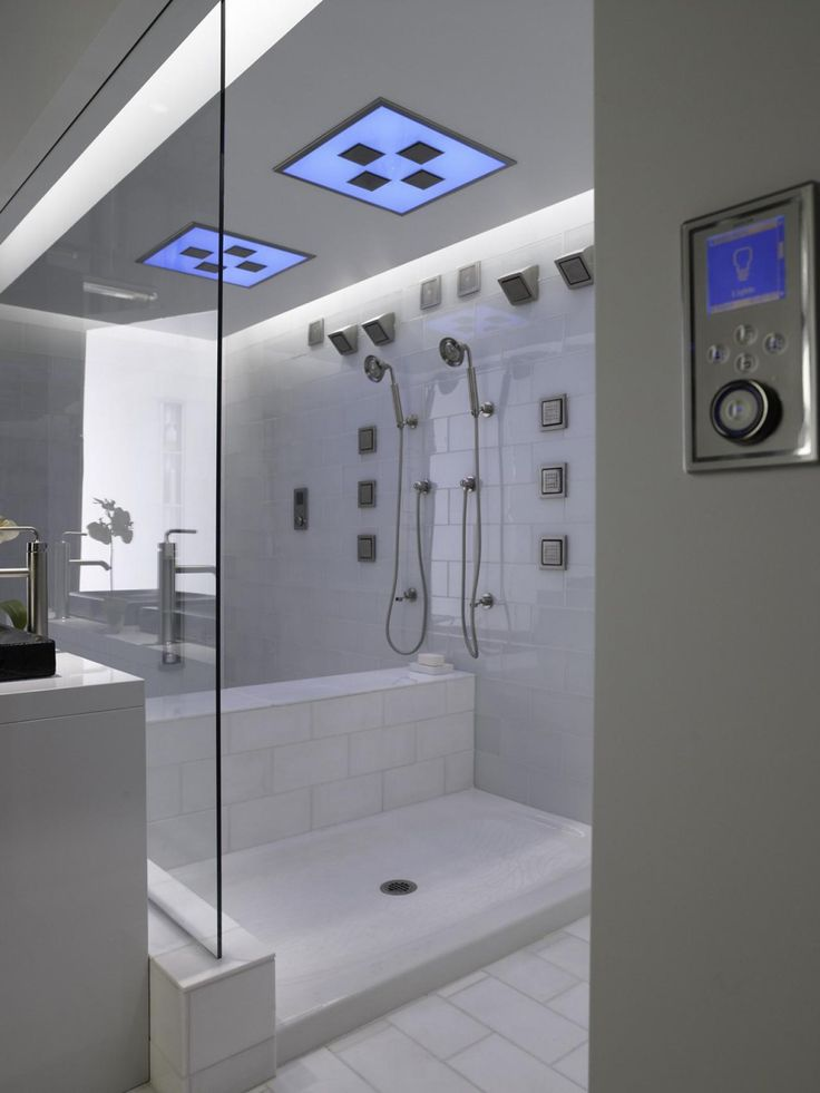 According To The National Kitchen And Bath Association (NKBA), Showers Are  Becoming Far More Popular Than Tubs. So Accordingly, High Tech Spa Like Body  ...