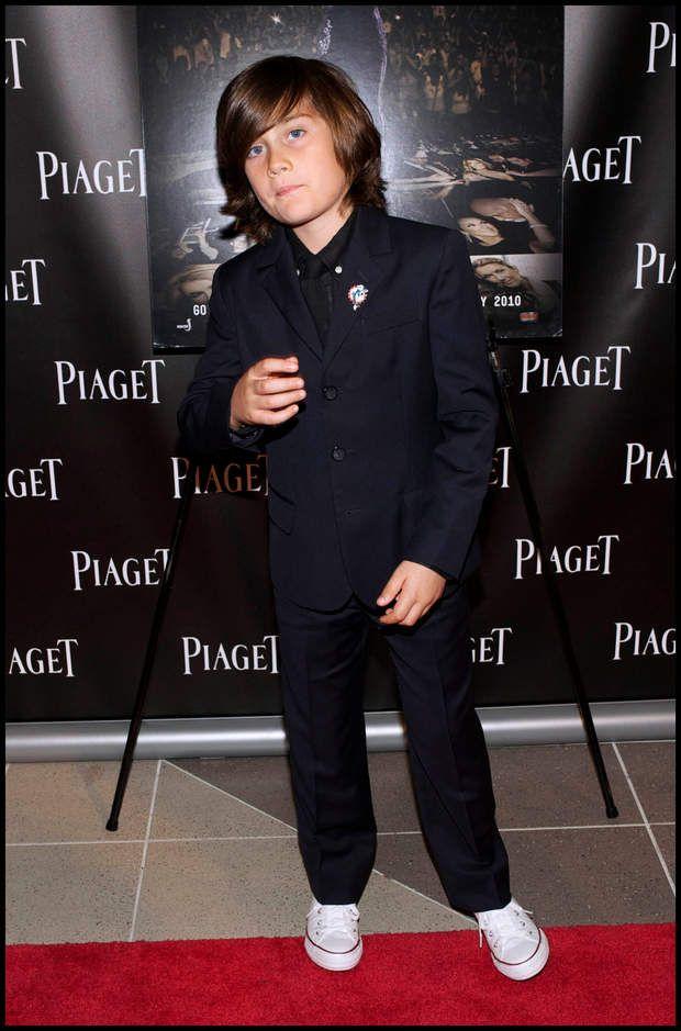 René-Charles Angelil, comme un grand, en février 2010