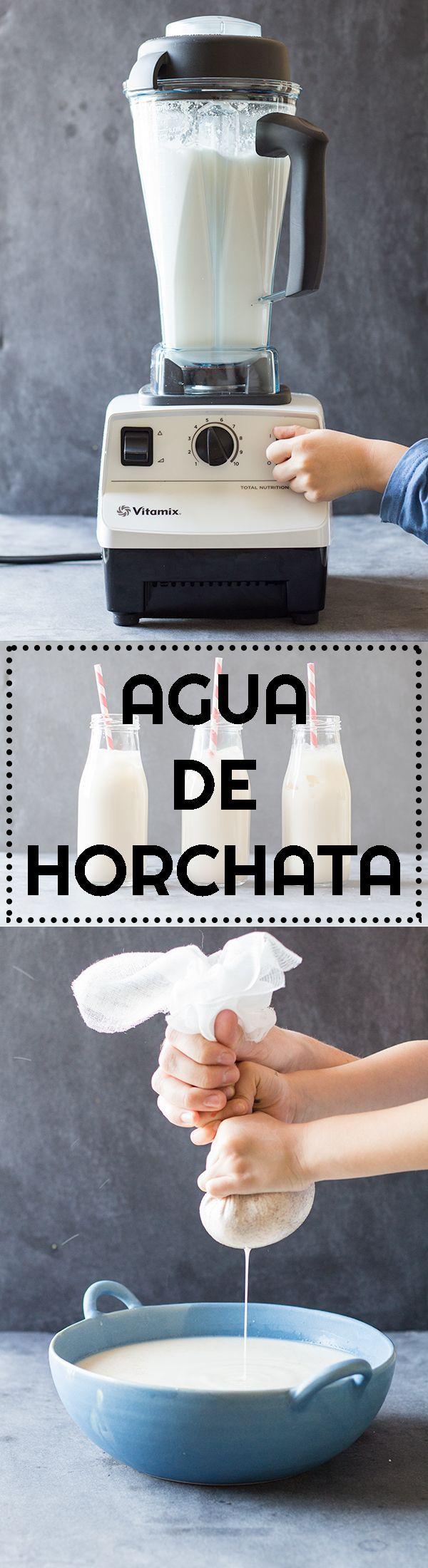 Agua De Horchata + Vitamix Giveaway