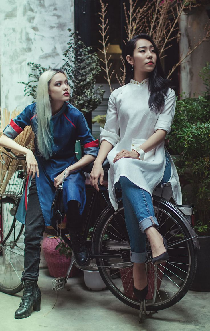 Dieu Anh's 'Ao Dai Tet' Lookbook