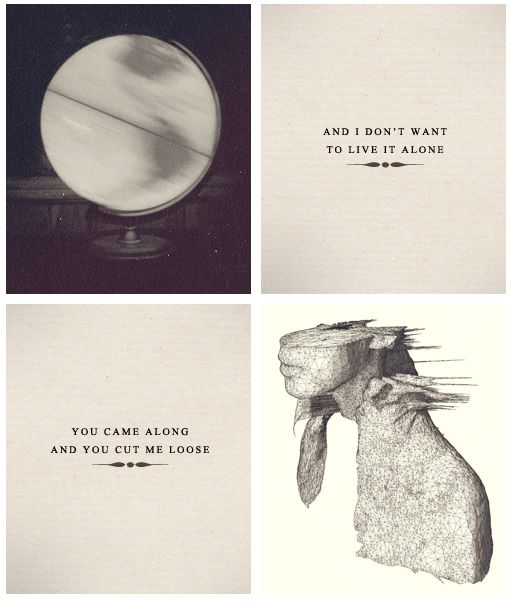 The end of each album...these two albums are actually my favorite of theirs. I should just make a Coldplay board....