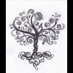 A whimsical tree of life...kinda neat!