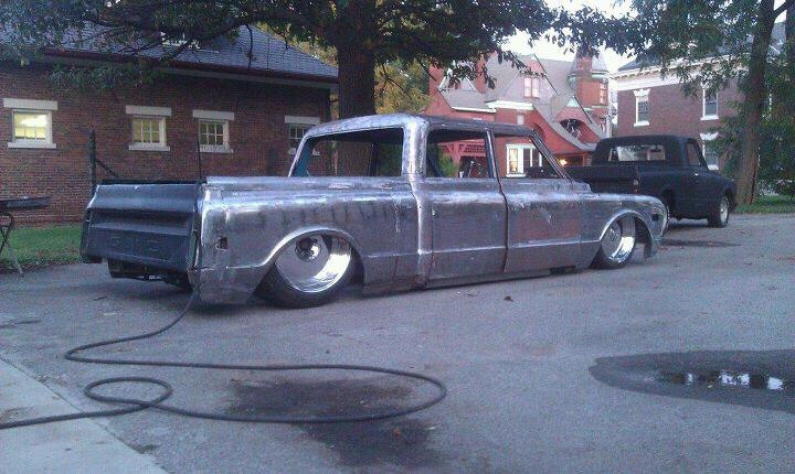 Raw Metal Classic Chevy Crew Cab Truck I D Love To