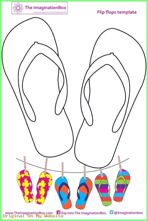 Kunst Grundschule – Design your own flip flops! #kunstgrundschule #kunstgrundschulefasching …