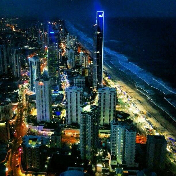 Surfers Paradise - the home of NetFest!!
