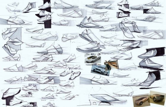 Good Character Design Portfolio : Idea for shoe sketch page fashion illustration
