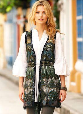 Вязаная одежда в этническом стиле. Обсуждение на LiveInternet - Российский Сервис Онлайн-Дневников