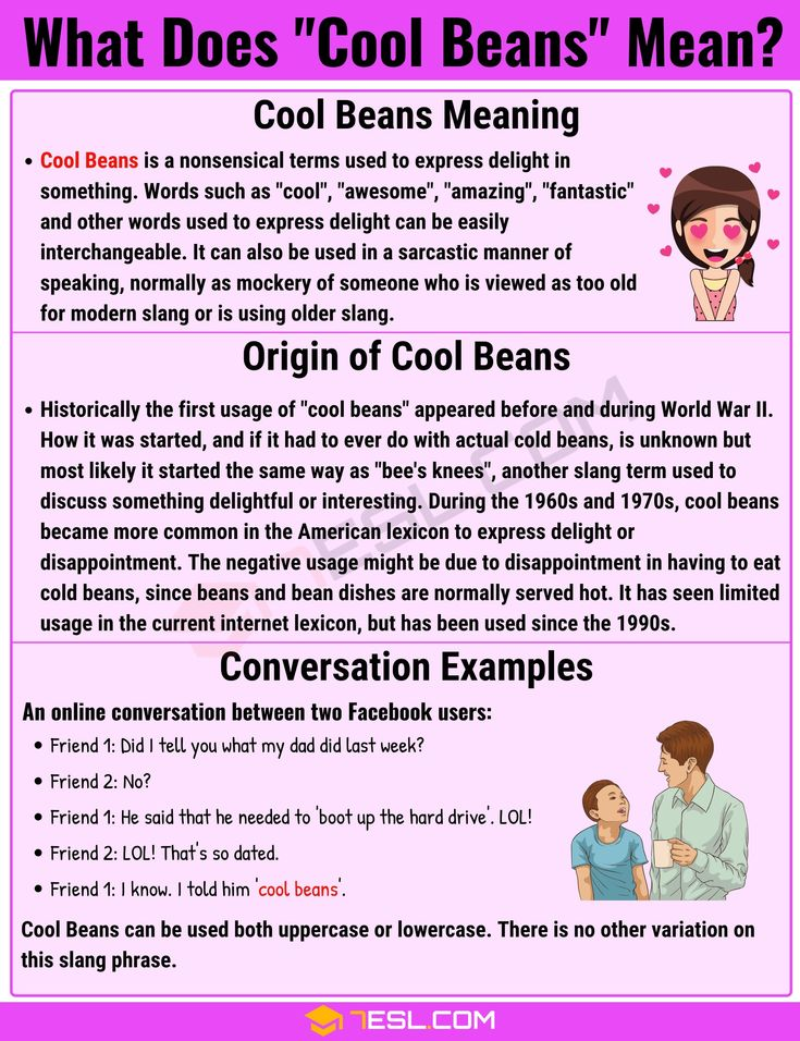 Cool Beans Meaning: What Does This Interesting Slang Term