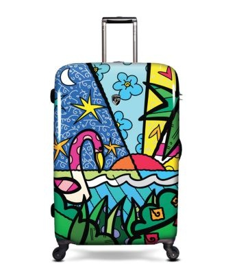 I LOVE Britto!  Heys Luggage, Britto Palm - Luggage Macy's
