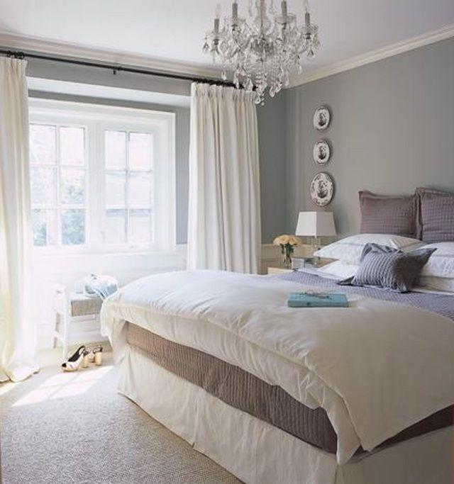 couleur de la peinture de la chambre adulte en gris pierre