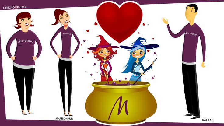 TEMA: TUTORIAL MARRIONAUD. Disegno vettoriale Tav 3