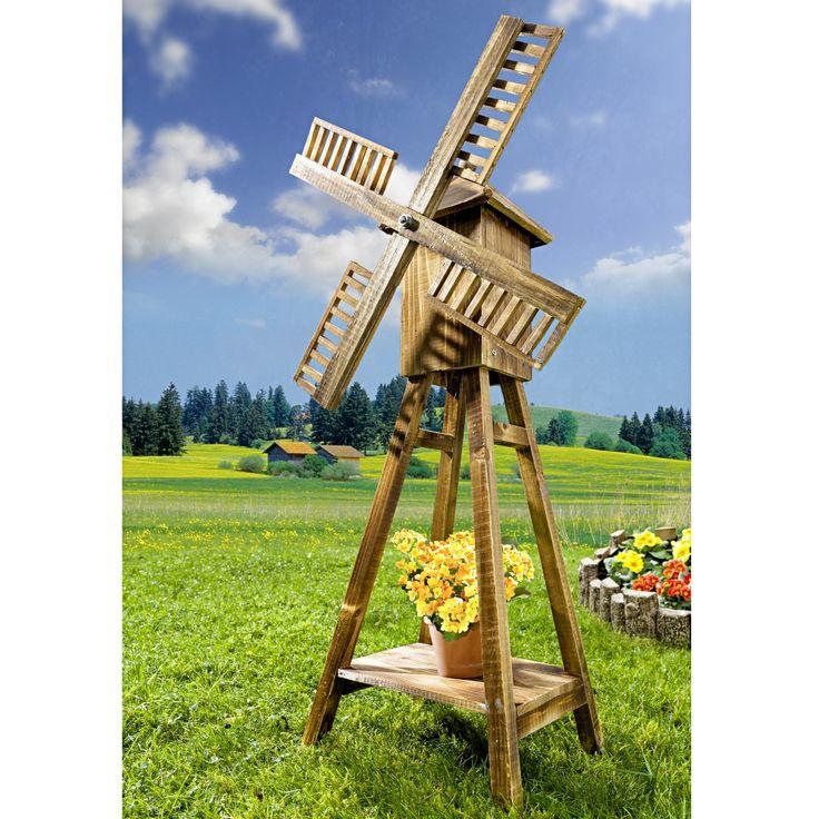 Les 25 meilleures id es de la cat gorie moulin vent de for Moulin en bois pour jardin