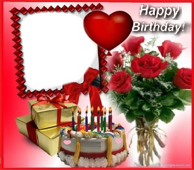 Photo Montage Happy Birthday Pixiz Facebook Cards