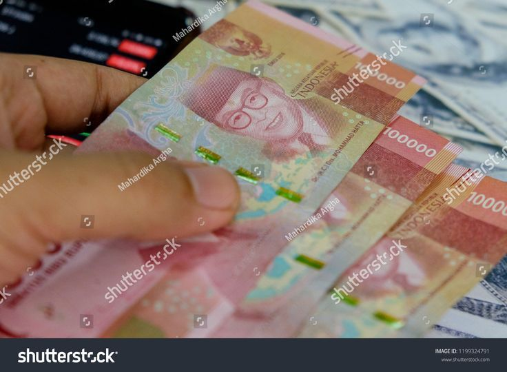 Rupiah Indonesia Currency And Us Dollar